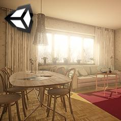 Unity 3d éclairage d'intérieur