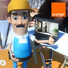 Réalité augmentée Orange