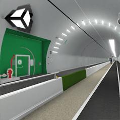Visite virtuelle tunnel Croix rousse