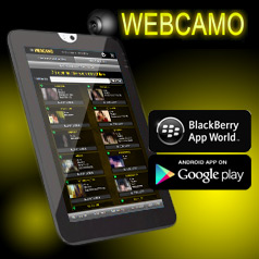 Webcamo Android et Blackberry